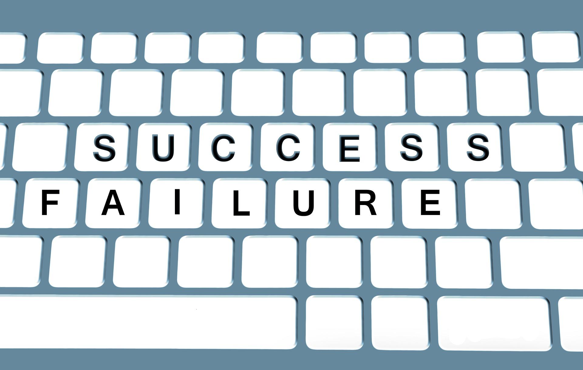 epäonnistuminen